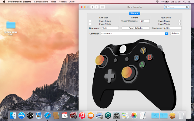 controller xbox su mac