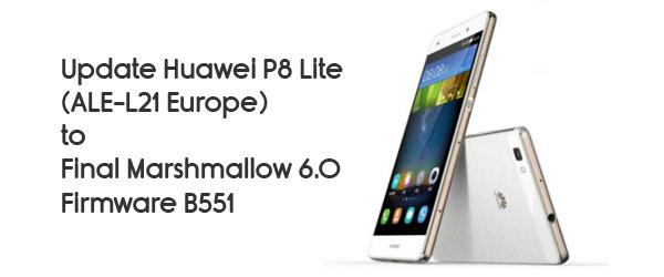 sbrandizzare aggiornare Huawei P8 lite