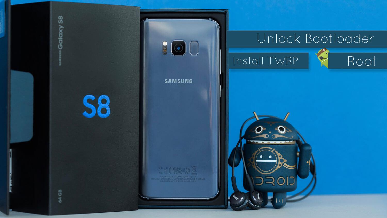 Sbloccare bootloader e root su Samsung Galaxy S8 e S8+ [GUIDA]