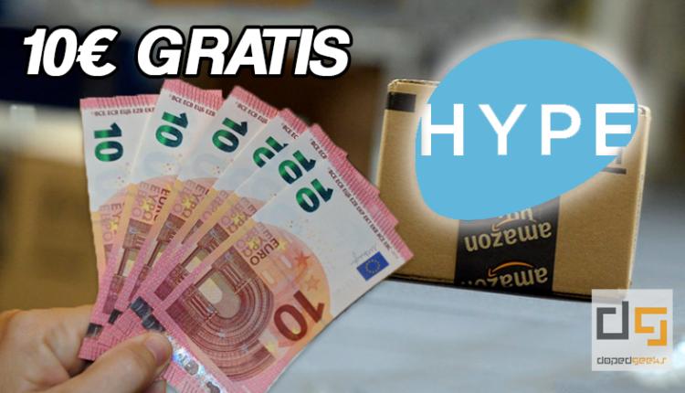 hype 10 euro gratis