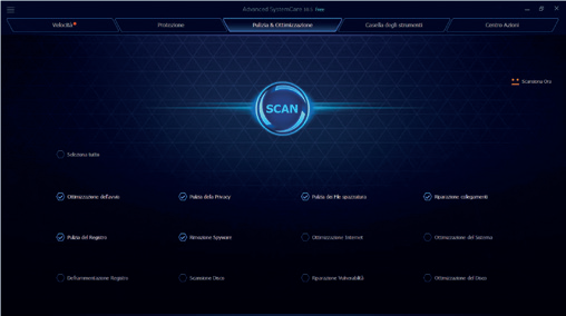 Advanced SystemCare Scan