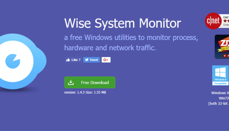 wise cleaner system monitor